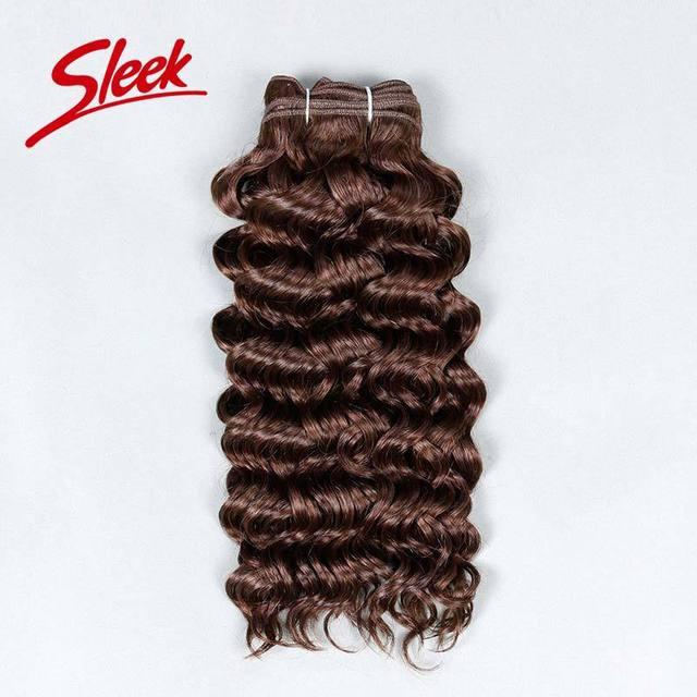 Sleek 100% Human Hair Weave Brands Mink Brazilian Hair Free Shipping 8A Brazilian Deep Curly Virgin Hair 1# 1b# 2# 4#