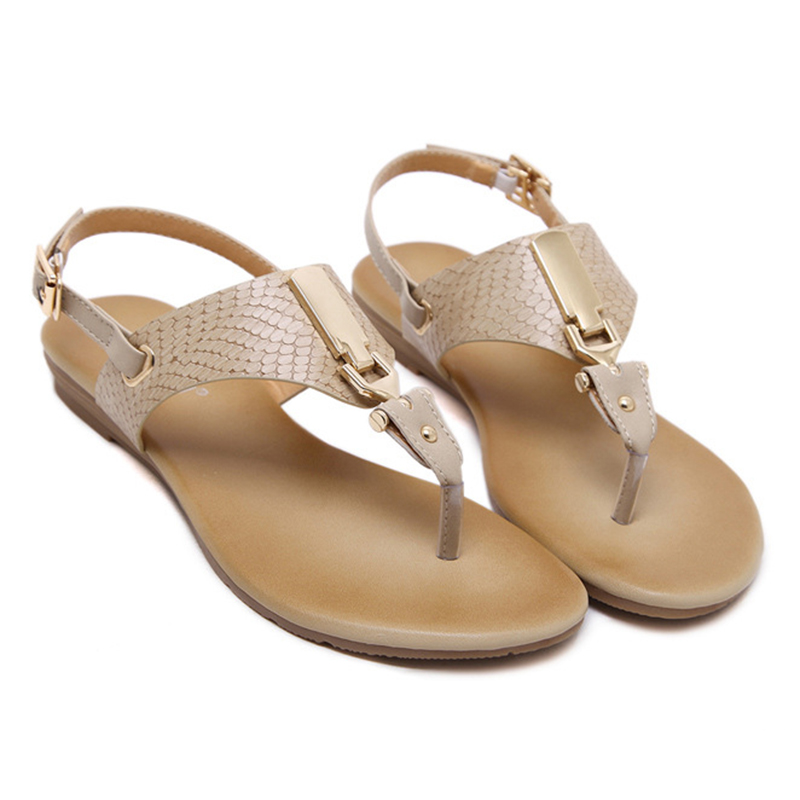 d48ff1369b55e SUKETU Woman Shoes 2017 The Sandals Retro Style Flats Women s Sandals Girls  Party Sandalias Mujer Ladies Beach Sandals Soft-in Women s Sandals from  Shoes on ...