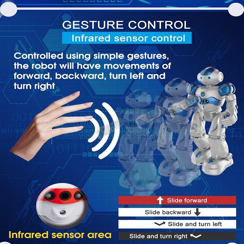 Robot télécommandé Intelligent multi-fonctionnel danse chant interactif robot électrique enfants jouets Rc Robot humanoïde - 5