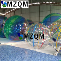 Mzqm 무료 배송 사람들을위한 뜨거운 판매 zorb 공  풍선 pvc 물 공  물에 걷는 사람들을위한 물 산책 공