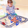 Parent-children Interaction 73PCS/set Thomas Tracking Building Kits Toy for Kids Race Track Model & Electric Speed Car 1/32