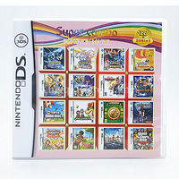 Nintendo NDS Game 208 In 1 Compilations 208H01 Video Game Cartridge Console Card English Language With