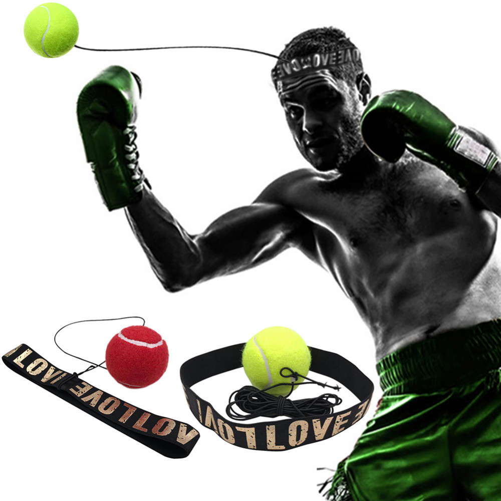 Fight Ball Head Band for Reflex Speed Training Boxing Punch Muay Thai Exercise