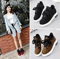 2016 Spring and Autumn women's casual shoes flat shoes buckle Lace-uprogues cute fashionable woman shoes size 35-39