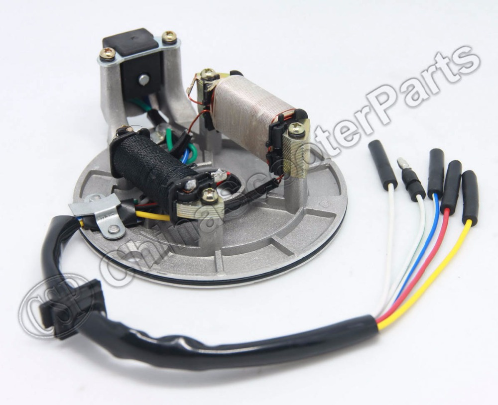 US $14 86 11% OFF|70cc 90cc 110cc 125cc Pit Dirt Bike ATV UTV Stator Plate  Pickup Magneto Coil Rotor Pitbike-in ATV Parts & Accessories from