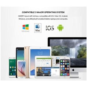 Image 5 - B.O.W Mini  Bluetooth Keyboard  Foldable, Folding  Aluminium case for iOS, Android, Windows, PC,Tablets and Smartphone