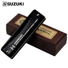 Suzuki Hammond HA-20 Diatonic Harmonica 10 Holes Blues Harp Key C Mouth Organ By Suzuki Japan Professional Musical Instruments