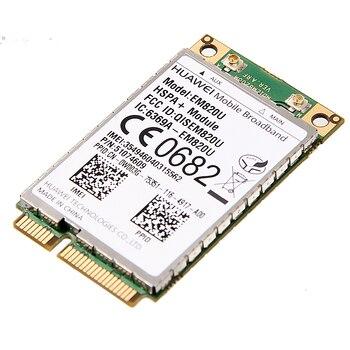 Unlocked HuaWei EM820U WCDMA GSM Wireless 3G WWAN Mini PCI-E Card HSPA+ 21Mbps 3G Module Over EM820w for Laptop Notebook