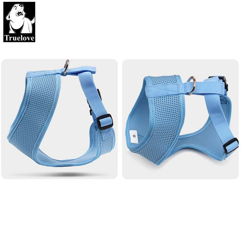 Truelove Puppy Cat Pet Dog Harness Breathable Mesh Nylon Dog Harness - Pet produkter - Foto 3