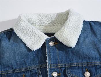 Winter denim jacket  4