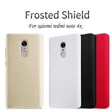 """Nillkin For Xiaomi Redmi Note 4X case cover funda 5.5"""" hard plastic back cover redmi note 4x case cover + free Screen Protector"""