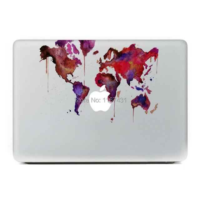 New graffiti world map vinyl decal sticker for apple macbook pro air new graffiti world map vinyl decal sticker for apple macbook pro air pro retina 11 13 gumiabroncs Images