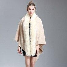 eaLAB cashmere coat wool blend plus size women clothing womens cloak cape coat winter ponchos and capes desigual female overcoat(China)