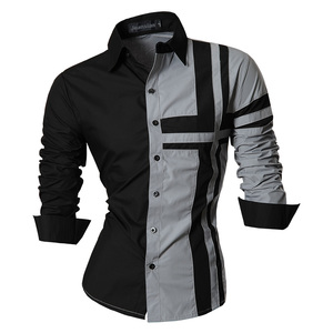 Image 3 - jeansian Spring Autumn Features Shirts Men Casual Jeans Shirt New Arrival Long Sleeve Casual Slim Fit Male Shirts Z014