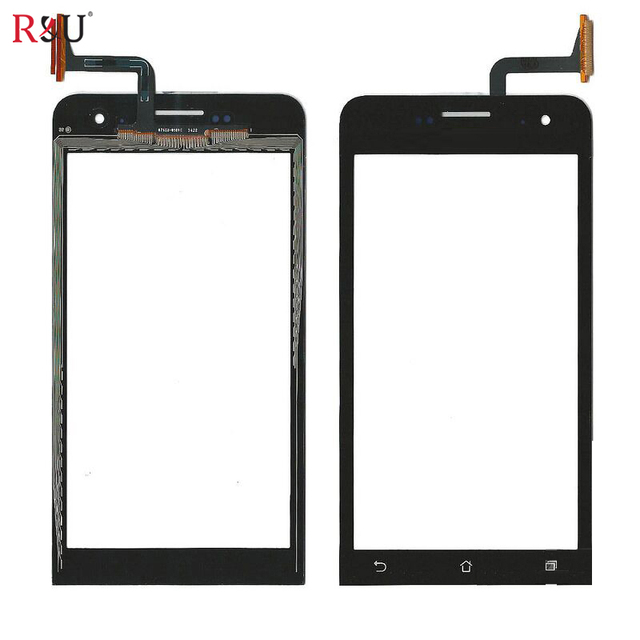 """New 5"""" Touch Screen Panel Digitizer outer Glass Sensor Replacement parts For Asus Zenfone 5 A500 A500cg A501CG A500KL T00J"""