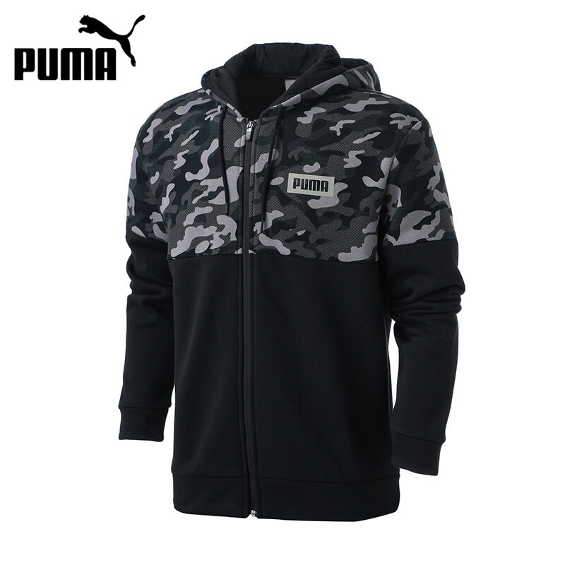 Original New Arrival 2017 PUMA AOP PUMA Rebel FZ Hoody Men's jacket Hooded Sportswear original new arrival 2018 puma pace primary fz hoody men s jacket sportswear