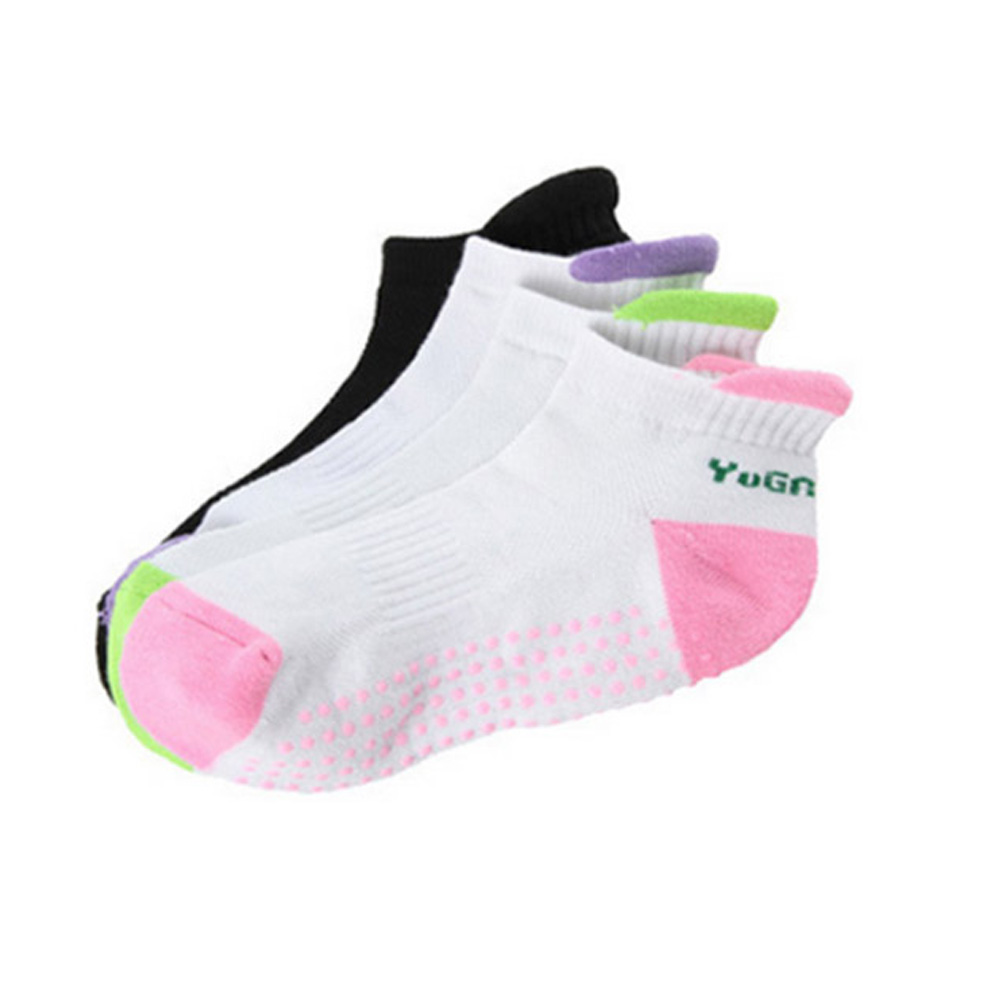 Professional Soft Cotton Non-Slip Sports Socks Yoga Socks Silicone Massage Socks Pilates Socks