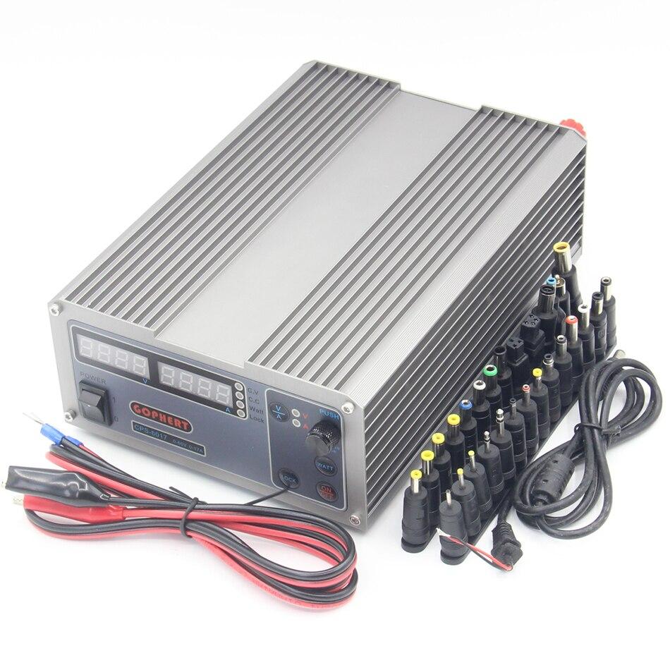 CPS 6017 0 60 В 0 17A 1000 Вт высокое Мощность цифровой регулировкой Питание 6017
