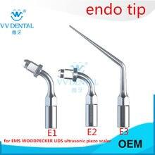 Dentl ultraschall Scaler Tipps endodontie ultraschall tipps Speziell für Endodontie Datei Entfernung Mehrere kompatibel mit EMS