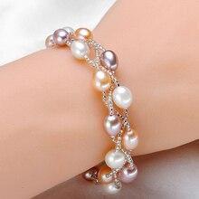 Handmade Pearl Bracelets for Women