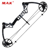 Compound Bow Straight Pull Pulley Bow Archery Equipment Entertainment Athletics Hunting Fish Bow