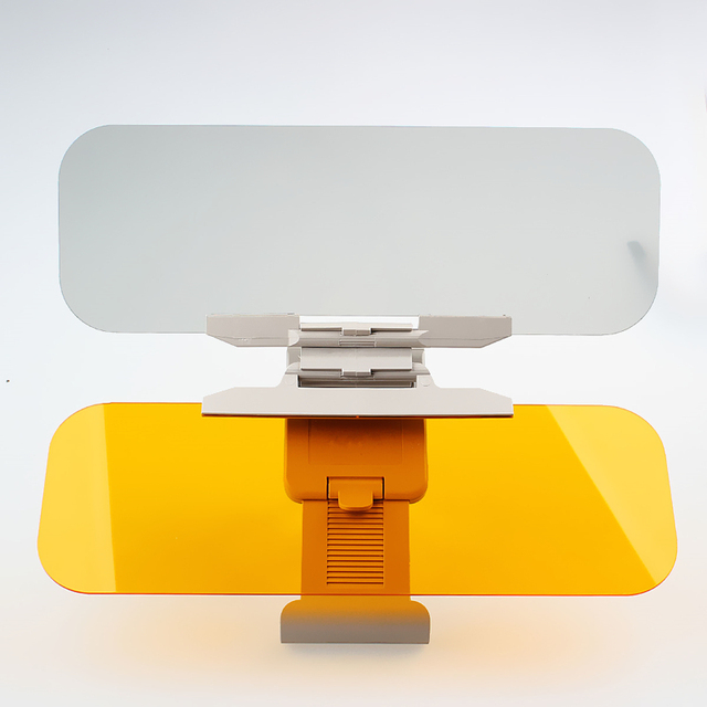 Marca New Car Auto Anti Brilho Dazzling Goggle Day & Night Vision Espelho Escudo Viseira