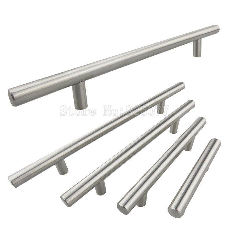 4PCS Dia 12mm Stainless Steel T bar Handle Cabinet Knobs and Door Handle Pull For Kitchen Furniture Cupboard Drawer JF1386 lauren moshi lauren moshi sf 153393