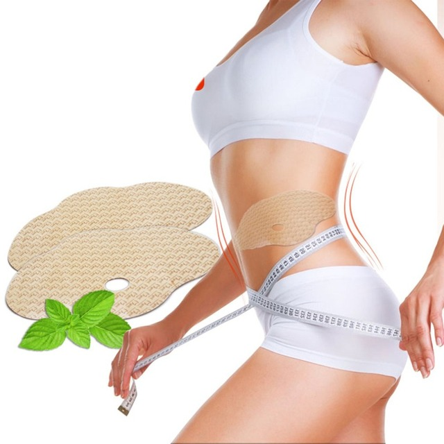 Body Sliming Waist Tighten Big Abdomen Decrease Sticks Navel Paste Body Paste