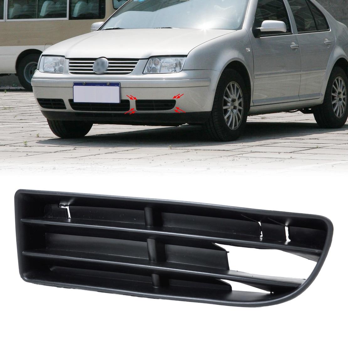 DWCX 1J5853665B Front Left Side Bumper Lower Grill Vent for VW Jetta Bora MK4 1999  2000 2001 2002 2003 2004 2001 2002 2003 carbon front left