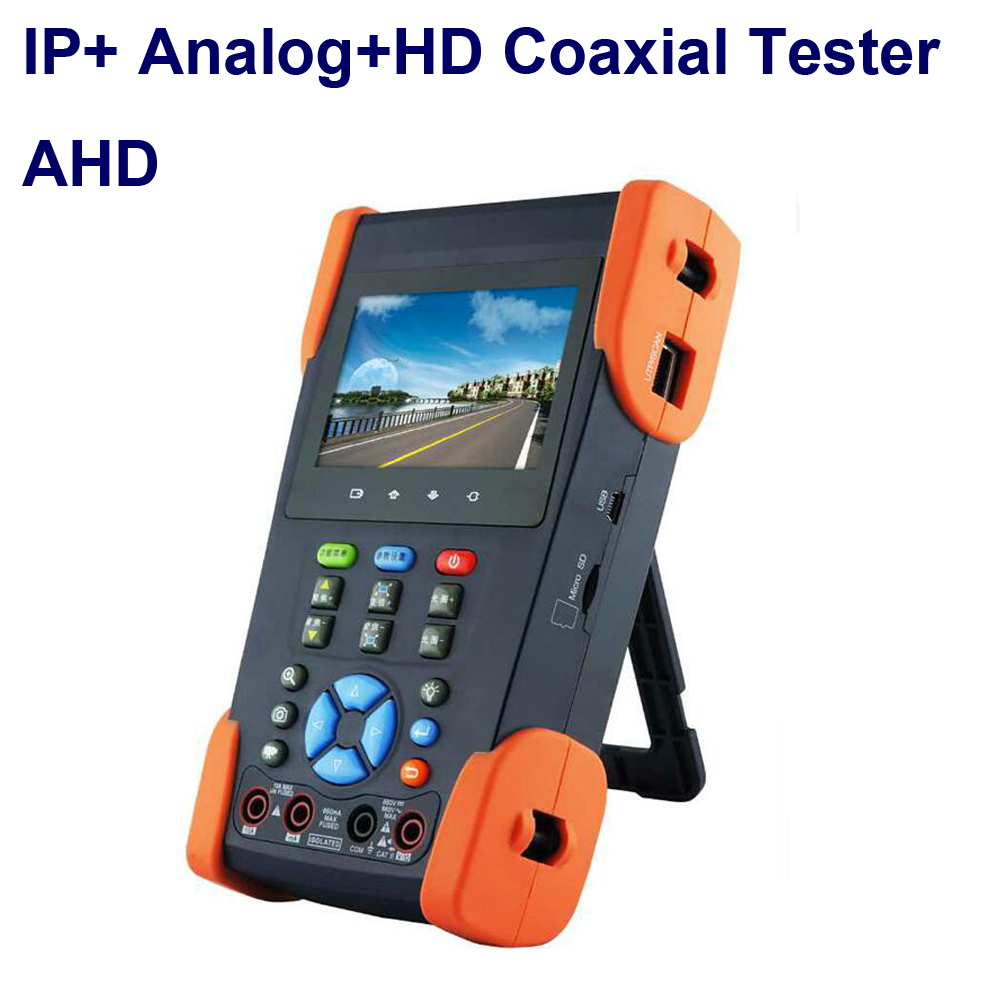 IP Camera cctv tester HD Coaxial Tester with Wifi Touch Screen