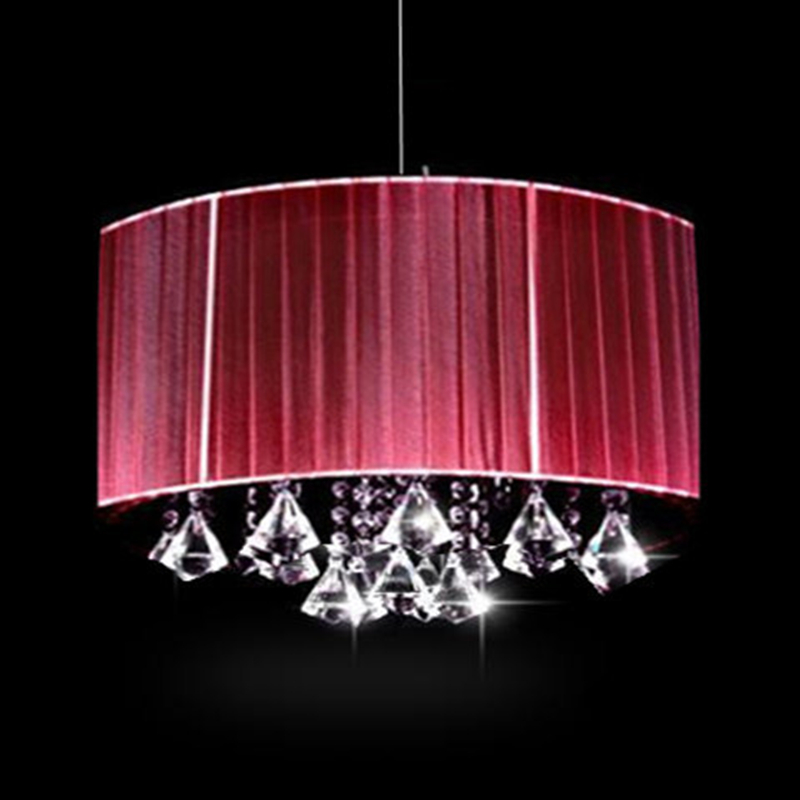 ФОТО Creative personality Wire Drawing Hanging light modern oval luster K9 crystal Chandeliers Living room with room lights