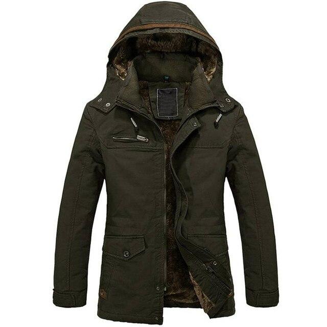 Aliexpress.com : Buy TFGS Warm Jackets Parka Outerwear Fur lined ...