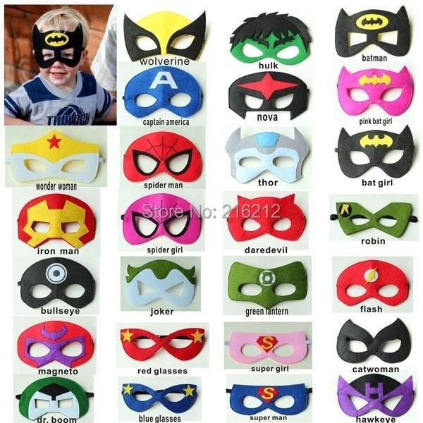 Hot <font><b>Super</b></font> <font><b>hero</b></font> <font><b>kids</b></font> <font><b>eyemask</b></font> batman cosplay cosplay captain america spiderman <font><b>kids</b></font> Satin <font><b>mask</b></font>