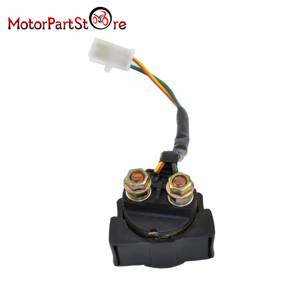 Replacement Starter Relay Solenoid For Honda 300 Trx300 Fourtrax 2000 R6 Wiring Diagram 1988 Ignition Key Switch Starting 10 In Motorbike Ingition From