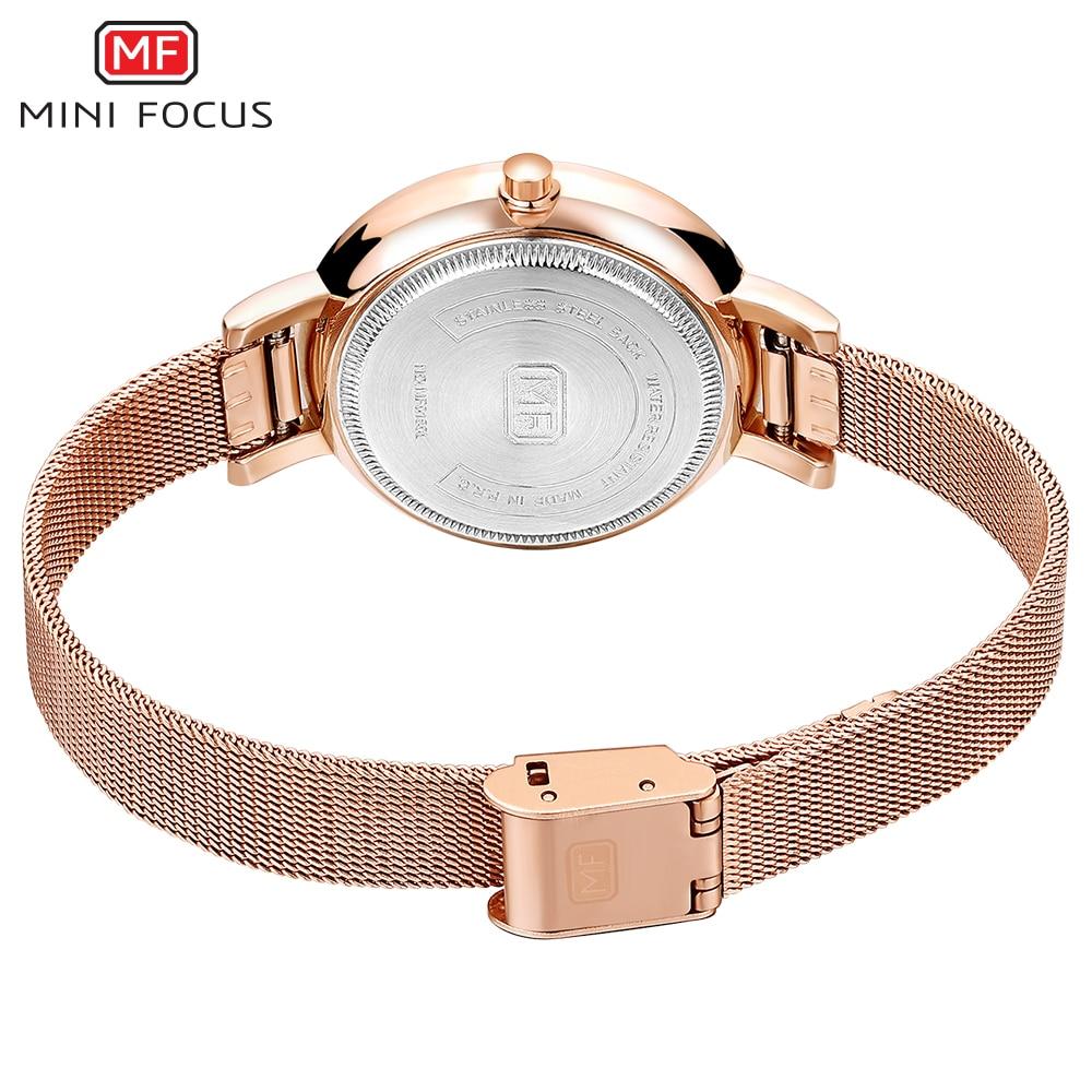 MINI FOCUS Mode Quartz Horloge Vrouwen Horloges Dames Meisjes - Dameshorloges - Foto 6