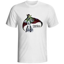 Lelouch of the Rebellion T-shirt Anime Style Fashion CODE GEASS T Shirt Casual Novelty Funny Women Men Top Tee