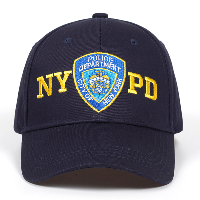 2019 new NYPD embroidery   baseball     cap   outdoor sun   caps   adjustable 100%cotton couple hat Hip Hop Hats