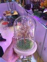 new arrivals natural citrine quartz crystal lucky tree reiki healing gemstone crystal tree meditation for home decoration