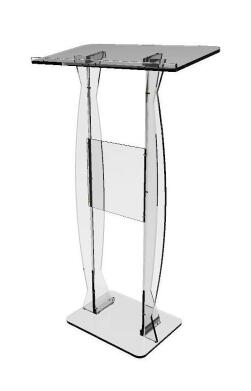 Free Shipping Hot Sell Clear Fixture Displays Fixture Displays Podium Clear Ghost Acrylic Lectern Or Pulpit Easy Assembly Requir
