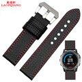 Laopijiang Derek Garmin Fenix Fenix3 relógios com 3 de fibra de carbono 26 MM pulseira de relógio à prova d' água