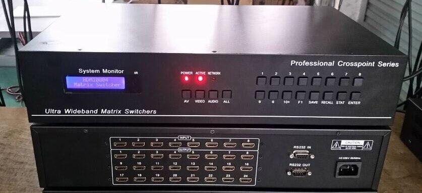 Computer-peripheriegeräte AnpassungsfäHig Professionelle 32 Ports Hdmi Matrix Switch Switcher Hdcp 1080 P Video Auto Loop Rs232 Ir 16x16 8x24 24x8 Kvm-switches