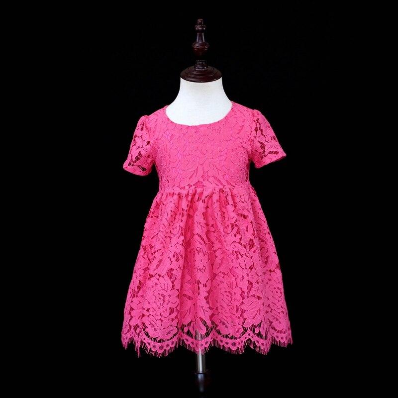 Marque enfants vêtements famille correspondant tenue enfants fille 1Y-16Y rose robe mère et fille correspondant robes maman bébé vêtements