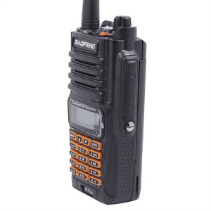 Image 3 - Baofeng UV 9R Plus 8W powerful 10km long range uv 9r Dual Band IP67 Waterproof Walkie Talkie+ Covert Air Acoustic Tube Headset