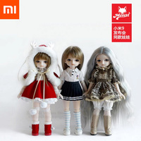 Xiaomi Mijia Little Cola Simulation Moe Ragdoll Joint Body Fashion BJD Doll 30cm Factory Dolls Toys Gift For Girl