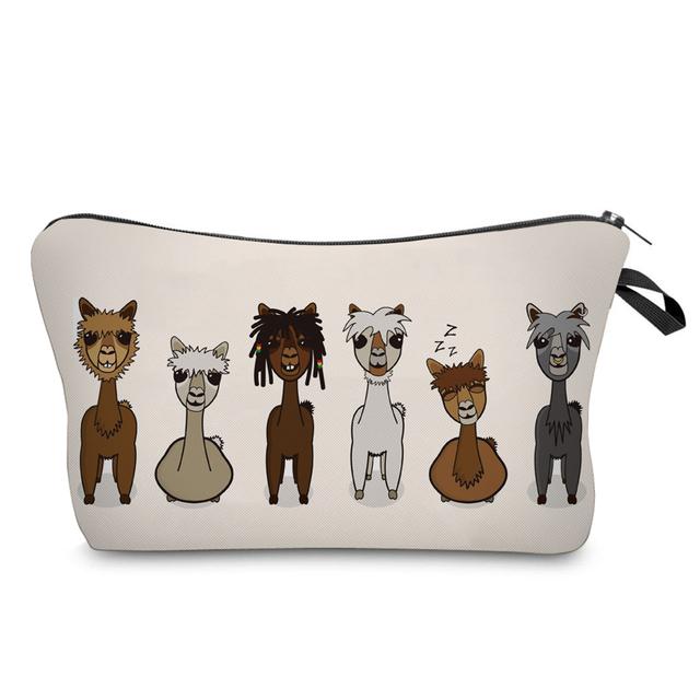 Cool Llama Crew Cosmetic Bag