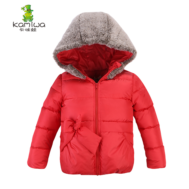 2ae0da187 KAMIWA 2018 Baby Girl Winter Coats And Jackets Down Duck Coat ...