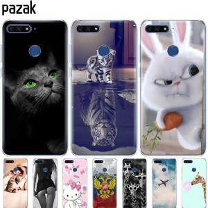 silicone case for huawei Y6 2018 cover back cover 360 protective soft tpu pop