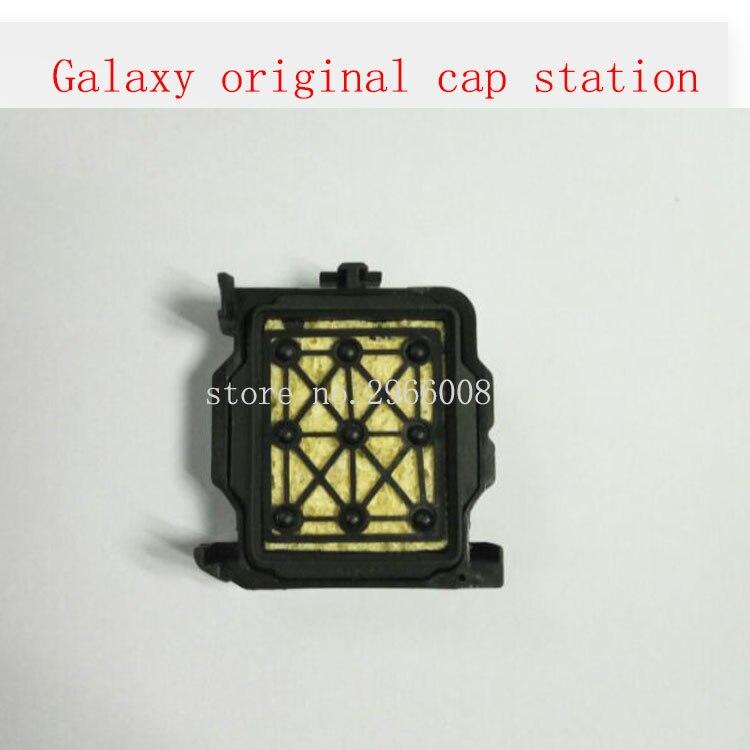 100% original e novo!! tampa superior dx5/estação cap para galaxy impressora solvente