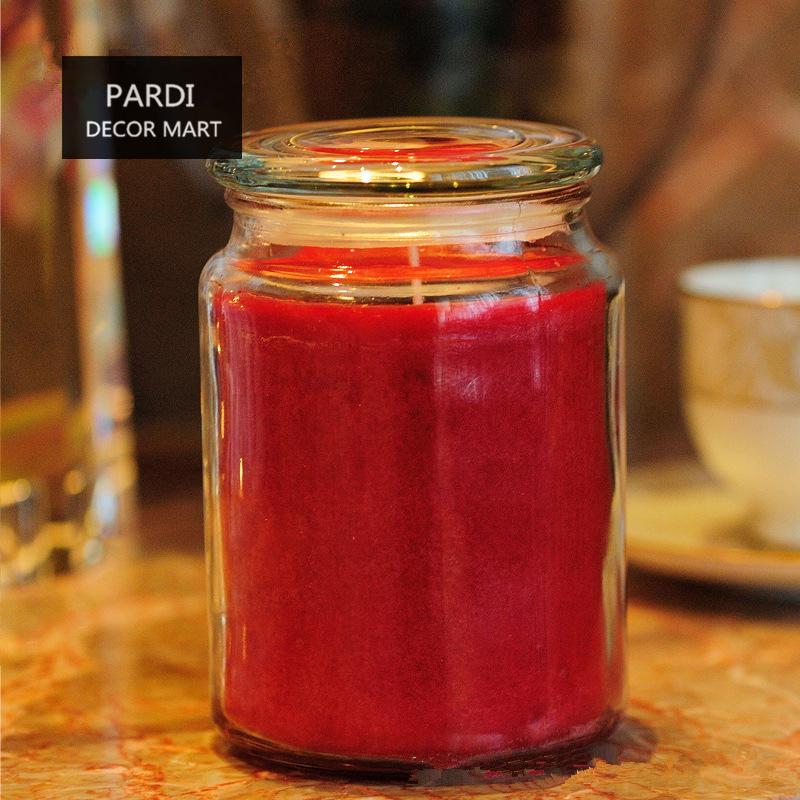 multi sabor tarro grande vela vela perfumada calmante relajante emocin vela la decoracin del hogar