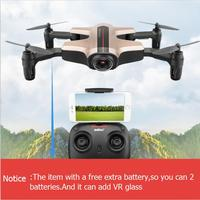 Extra battery WIFI FPV folding rc drone I251HW 2.4g attitude hold VR glass remote control quadcopter with HD camera vs X8HW X5SW
